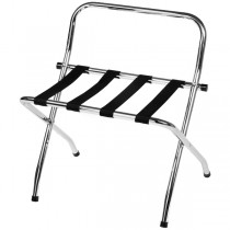 Chrome Plated Luggage Stand