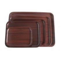 Mahogany Wood Tray