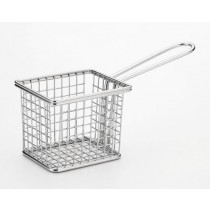 SERVING BASKET-RECT, STAINLESS STEEL